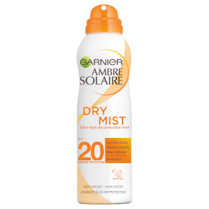 Ambre Solaire Dry Mist Fast Absorbing Sun Cream Spray SPF20 200ml