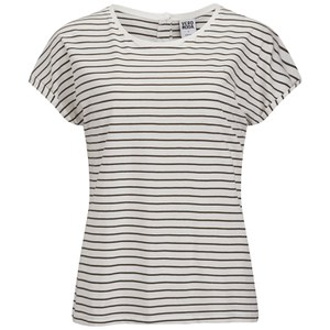 Vero Moda Women's Stripe T-Shirt - Ivy Green