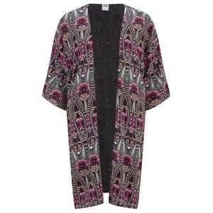 Vero Moda Women's Easy Long Kimono - High Risk Red