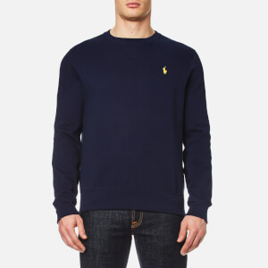 Polo Ralph Lauren Men's Long Sleeve Crew Neck Sweatshirt - Cruise Navy