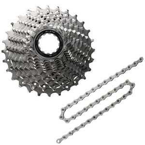 Shimano 105 CS-5800 Bicycle Chain and Cassette - 11 Speed - 11/28