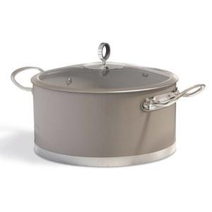 Morphy Richards 973035 Accents Casserole Dish - Barley - 24cm