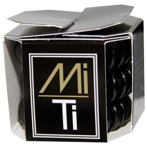 MiTi Professional Hair Tie - Midnight Black (3 stk)