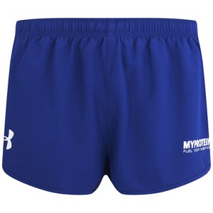 Pantalones Atléticos Cortos para Hombres Under Armour- Color Azul/ Blanco