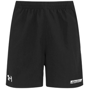 Shorts Selectos con Cremallera para Hombres Under Armour- Color Negro
