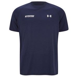 Under Armour® męski T-Shirt - granatowo/biały