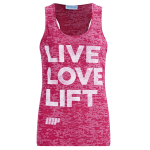 Myprotein Women's Burnout Vest - Pink (USA)
