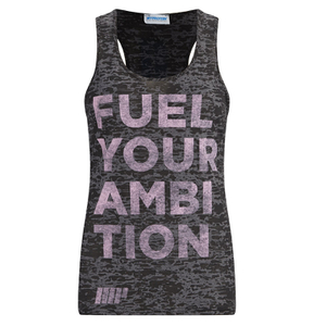 Myprotein Women's Burnout Vest - Black (USA)