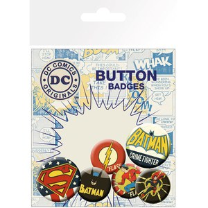 DC Comics Retro - Badge Pack