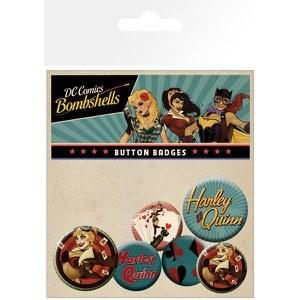 DC Comics Harley Quinn Bombshell - Badge Pack
