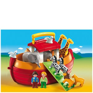 Playmobil 1.2.3 My Take Along Noah's Ark (6765)
