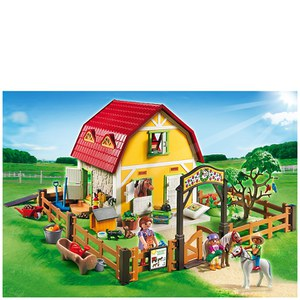 Playmobil Horse Farm Childrens Pony Farm (5222)