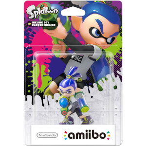Inkling Boy amiibo (Splatoon Collection)