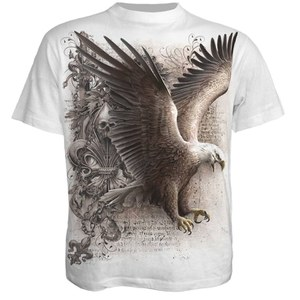 Spiral Men's WINGS OF FREEDOM T-Shirt - White