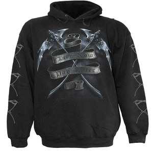 Spiral Men's LIVE NOW PAY LATER Hoody - Black