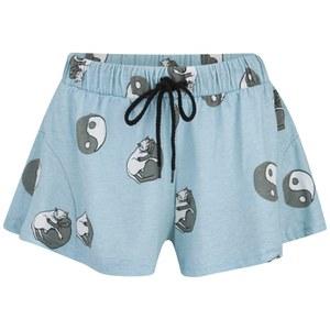 MINKPINK Women's Yin Yang Kitty Shorts - Multi