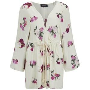 MINKPINK Women's Pink Petals Kimono - Multi