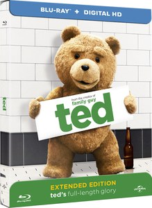 Ted – Zavvi Exclusive Steelbook (Limited to 1000 Copies) (UK EDITION)