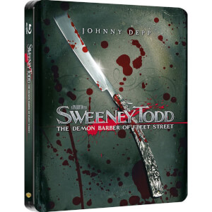 Sweeney Todd - Zavvi UK Exclusive Limited Edition Steelbook
