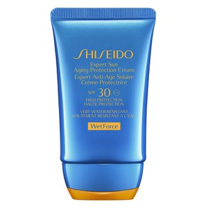 Shiseido Wet Force Expert sole Aging protezione crema SPF30 (50 ml)