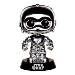 Star Wars E-3PO Chrome Convention Special Pop! Vinyl Figure