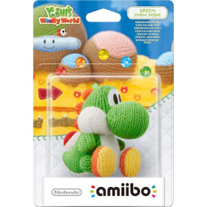 Green Yarn Yoshi amiibo (Yoshi's Woolly World Collection)