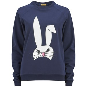 Peter Jensen Women's Rabbit Head Sweatshirt - Navy