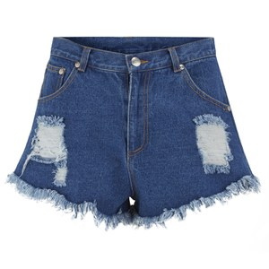 The Fifth Label Women's Go Outside Denim Shorts - Denim