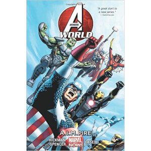 Marvel Avengers World Trade Paperback Vol 01 Aimpire
