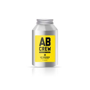 AB CREW Men's AB Shredder Supplement (60 kapsler)