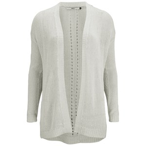 ONLY Women's Assisi Long Sleeve Cardigan - White