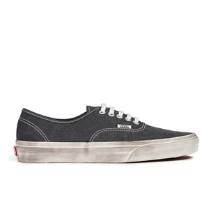 Vans Men's Authentic Overwashed Trainers - Black