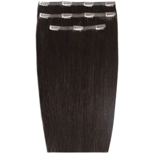 Beauty Works Deluxe Clip-In- Hair-Extensions 18 Zoll - Ebenholz 1B