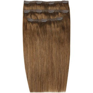 Extensiones de cabello Deluxe Clip-In de 45,7 cm de Beauty Works - Caramelo 6