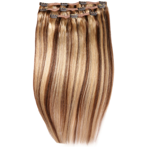 Beauty Works Deluxe Clip-In-Hair - Extensions 18 Zoll - Honey Blonde 6/24