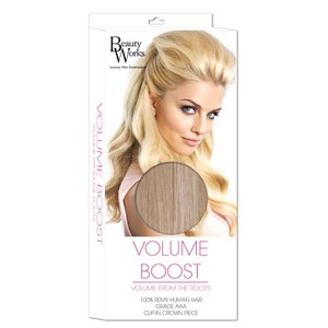 Extension de cheveux Volume Boost de Beauty Works - 613/18 Blond Champagne