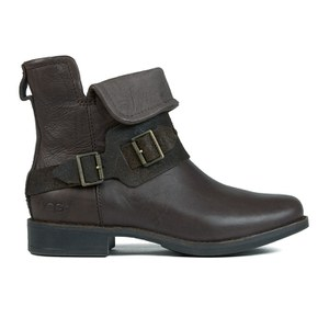 UGG Women's Cybele Buckly Biker Boots - Lodge
