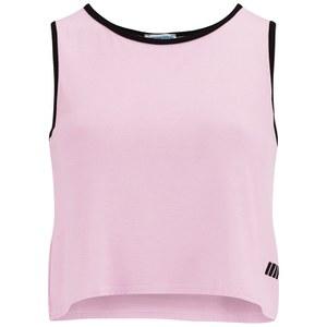 Myprotein Women's Cropped Vest, Pink