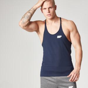 Myprotein Men's Longline Stringer Vest, Navy