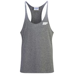 Myprotein Men's Longline Stringer Vest, Grey Marl
