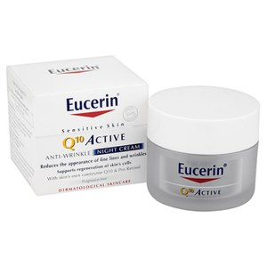 Eucerin® Sensitive Skin Q10 Active Anti-Wrinkle Night Cream (50 ml)
