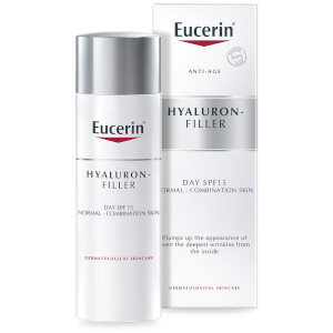 Eucerin® Anti-Age Hyaluron-Filler Day Cream for Normal to Combination Skin SPF15 + UVA Protection (50ml)