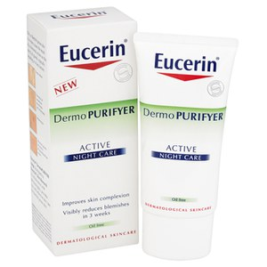 Eucerin® Dermo PURIFYER Active Night Care (50ml)