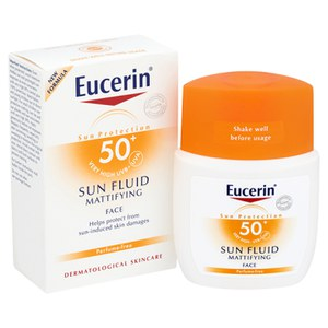 Eucerin® Sun Protection Sun Fluid Mattierend Face LSF50+ Sehr Hoch (50ml)