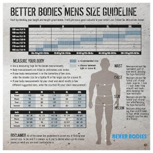 Better Bodies Raw Sleeveless Hoody - Antracite Melange