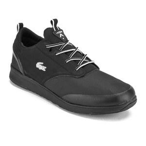 f7c27260dfd0eb Lacoste Men s Light 2.0 REI Running Trainers - Total Black  Image 4