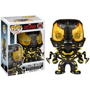 Marvel Ant Man Yellowjacket Pop! Vinyl Bobble Head Figure
