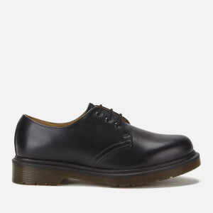 Dr. Martens 1461 PW Smooth Leather 3-Eye Shoes - Black