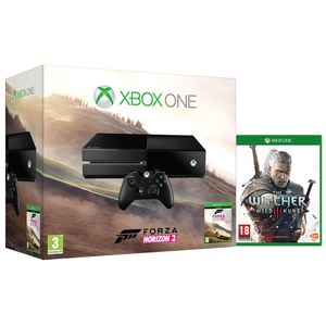 xbox one console includes forza horizon 2 the witcher 3 games consoles. Black Bedroom Furniture Sets. Home Design Ideas
