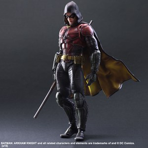 Square Enix DC Comics Batman Arkham Knight Robin Play Arts Kai Figure
